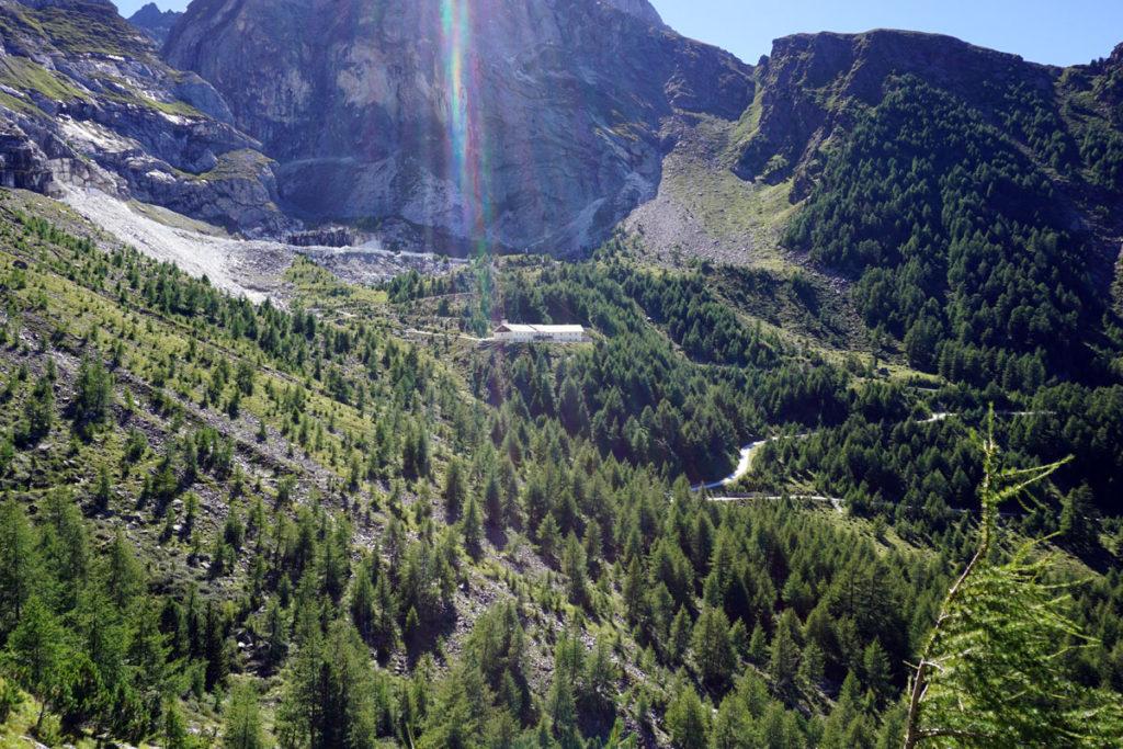 Mamorbruch oberhalb der Göflaneralm