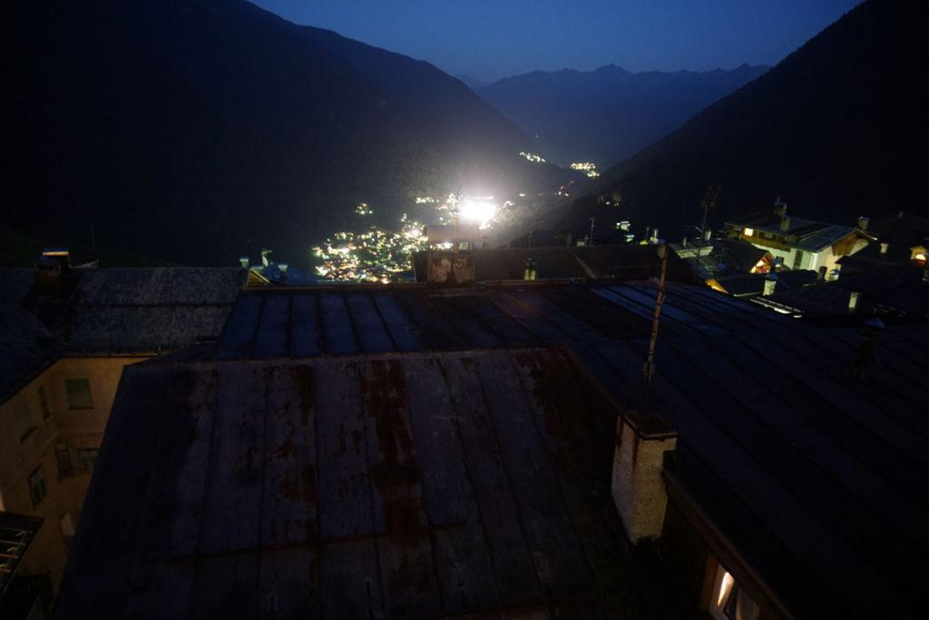 Peio bei Nacht
