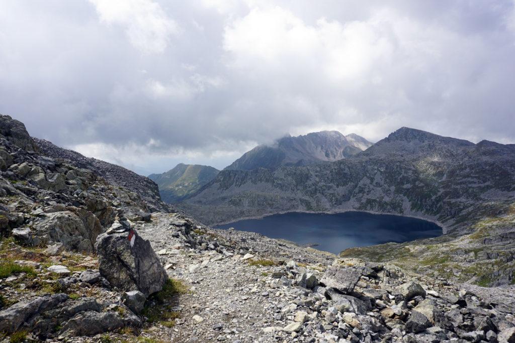 Lago della Vacca. Ende des Sentiero n. 1