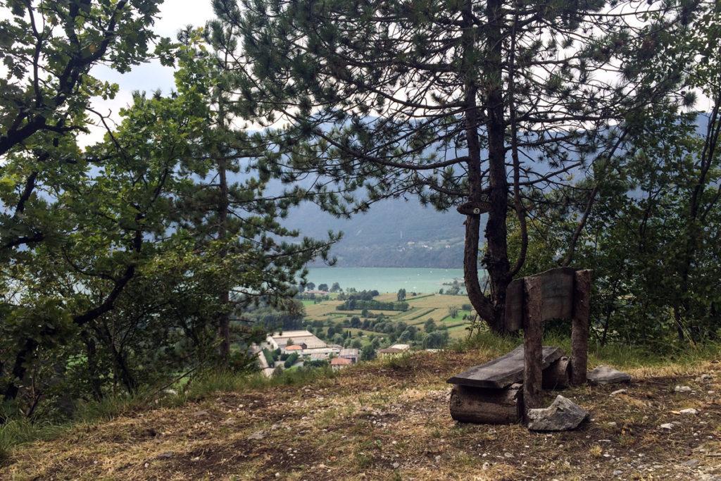 Blick auf den Lago d'Idro