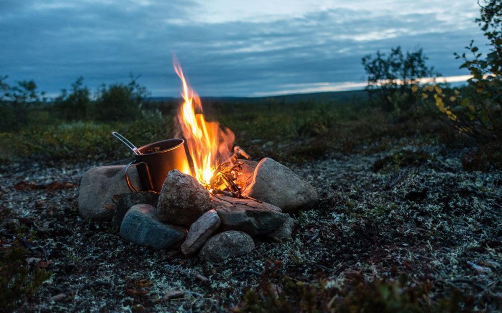 Campfire Nordkalottleden