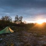 Campsite Nordkalottleden Skyscape Trekker