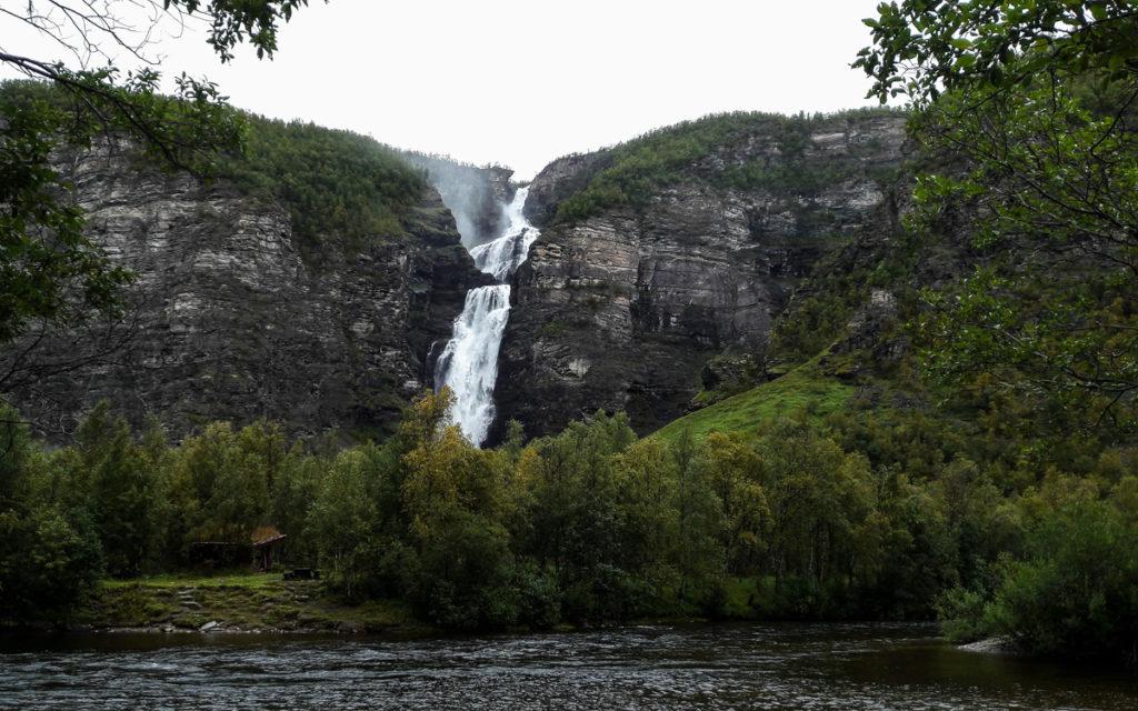 Mollisfossen Wasserfall