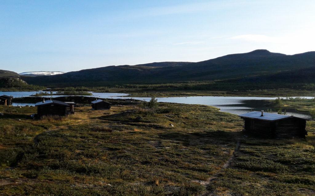 Hütte am Meekonjärvi