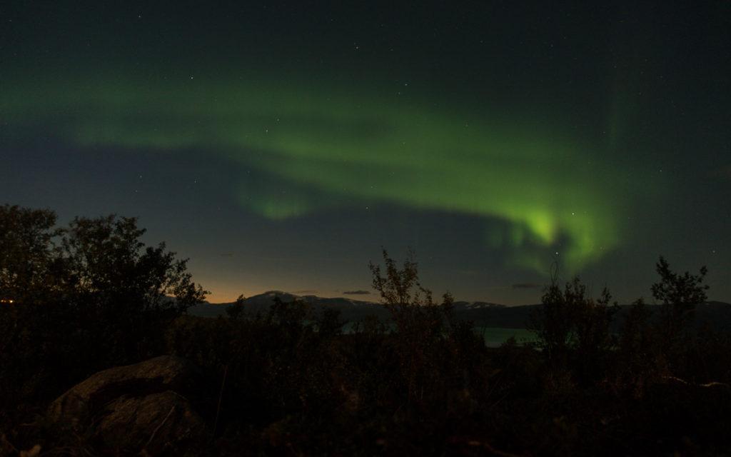 Polarlichter Abisko