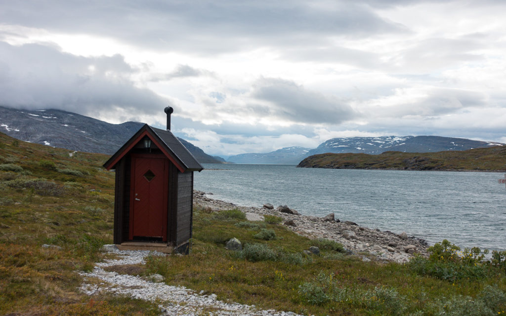 Sitashytta Sitajaure Nordkalottleden