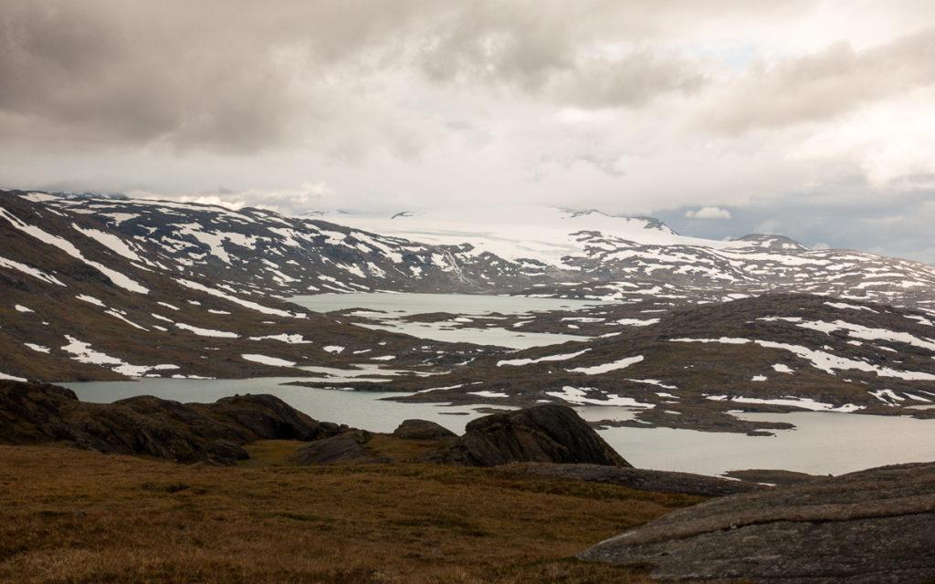 Gihccejiekna Gletscher Bovrojavri Nordkalottleden