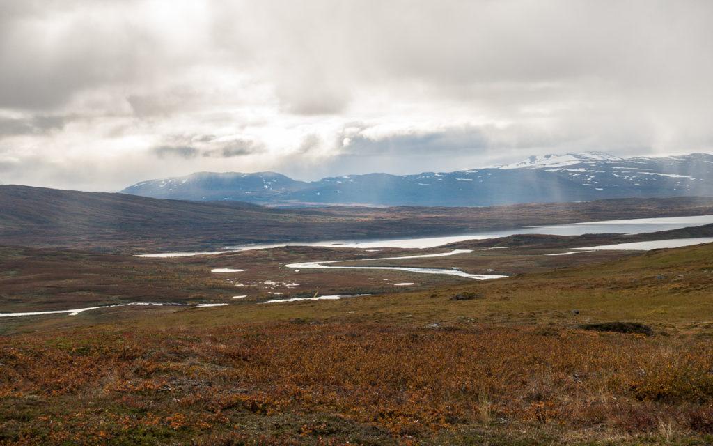 Nordkalottleden Virihaure Padjelantaleden Blamannsisen